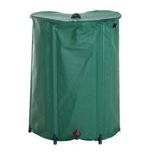 Outsunny Rain Barrel Rainwater Collection, PVC, 300L-Green