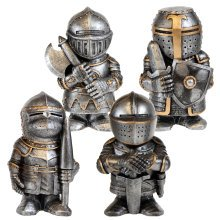 Sir Knight Figures Poke Fight Chop Defend alot