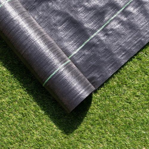 Black Polypropylene Weed Membrane - 2m by 50m Roll