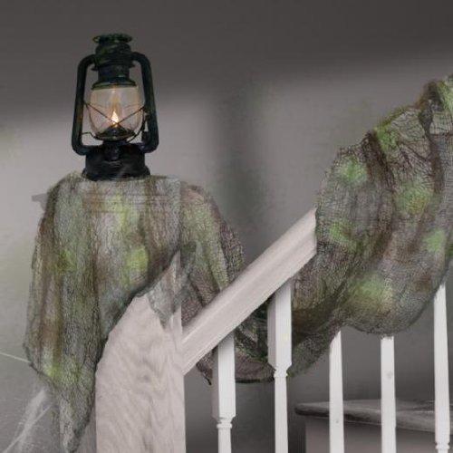 Halloween Grey Gauze drape -