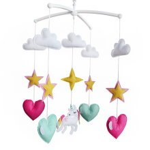 [Hand Made] Baby Gift Musical Mobile, Unisex Baby Crib, Bedtime Bed Bell Toy