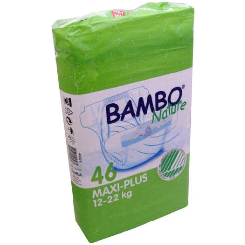 Beaming Baby Bambo Junior Nappies 54's