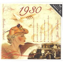 88th Anniversary or Birthday gift ~ Hit Music CD from 1930 & Greeting Card