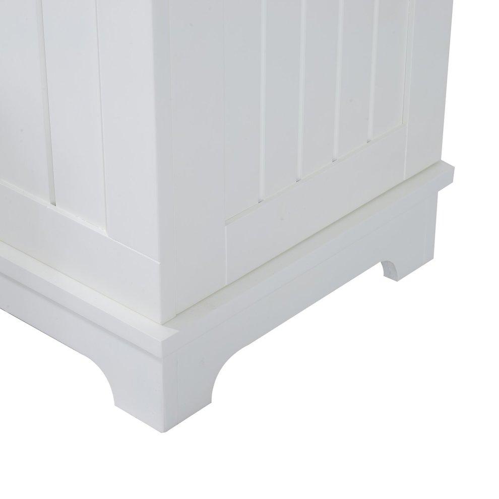 Homcom Wooden Entryway Storage Bench Hall Freestanding