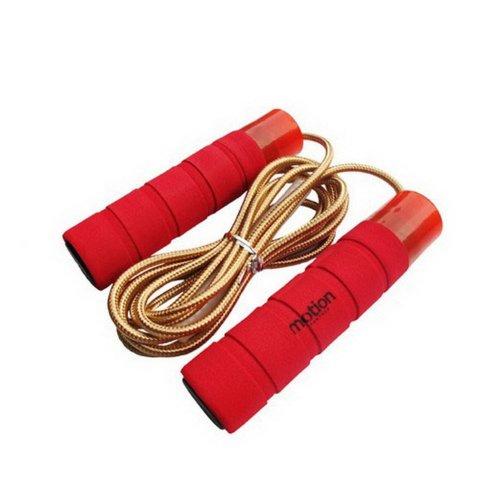 Motion Partner Speed Jump Rope TPU Skip Rope for Teen 2.8 Meters (Red)