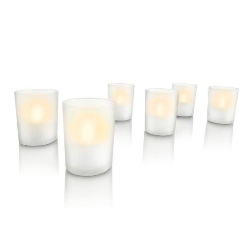 Philips LED Candle Light 6 pcs White 6912660PH