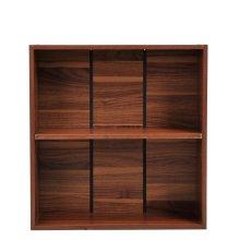 Homcom Wooden Wood 2 Tier Storage Unit Cabinet Home Office Furniture