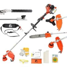 P1PE Hyundai P5200MT Petrol 2-Stroke Garden Multi-Tool Brush Cutter / Trimmer / Chainsaw 52cc