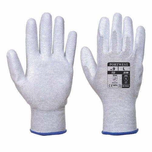 sUw - Mens Vending Antistatic PU Palm Gloves