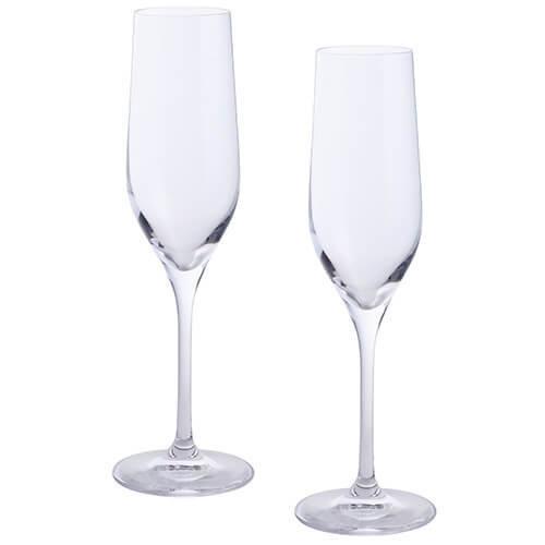 Dartington 2-Piece Crystal Wine and Bar Flutes