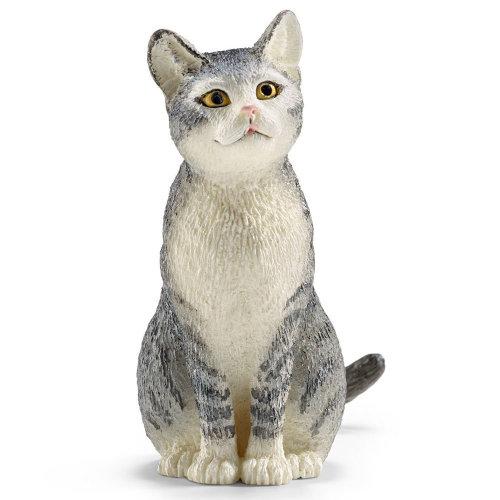 Schleich Cat Sitting
