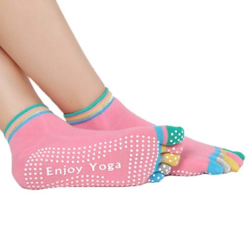 Five-finger Cotton Sports Socks Soft Non-slip New Design Yoga Socks #1