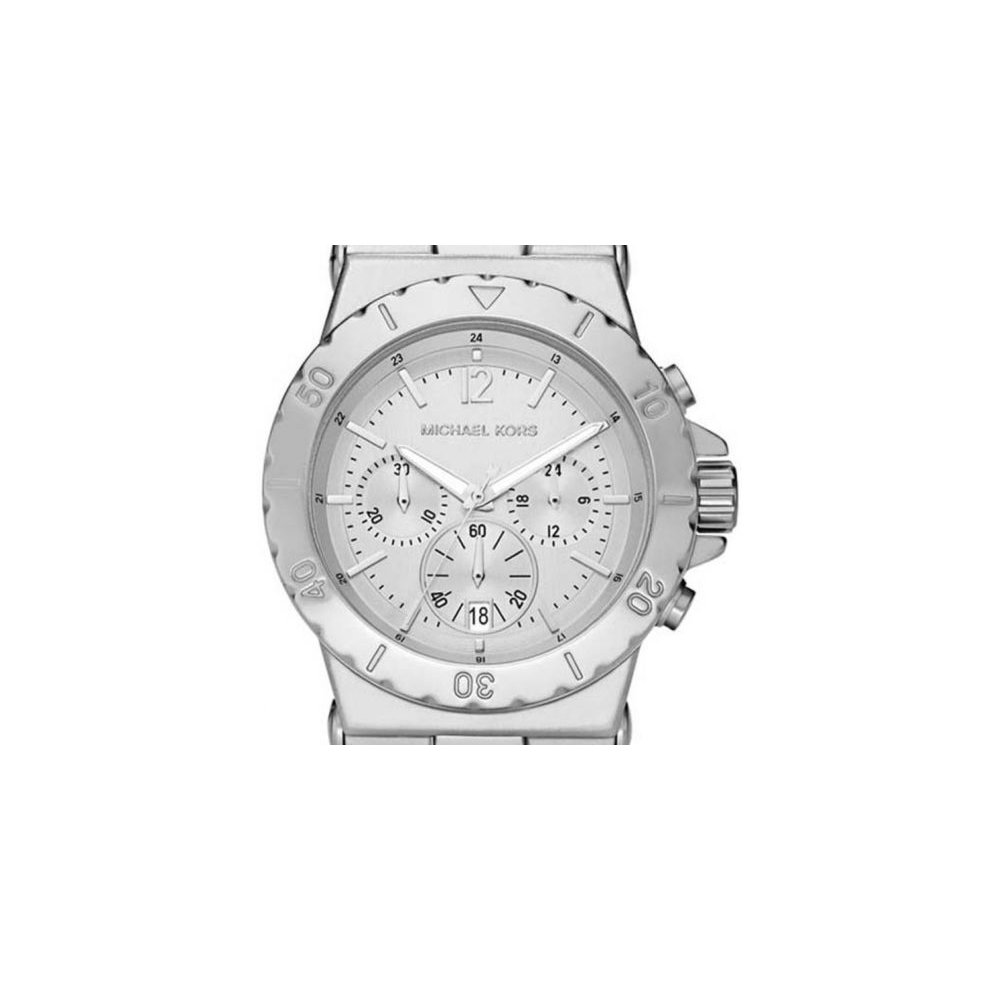 Michael Kors Ladies Watch MK5462 Silver Tone Chronograph