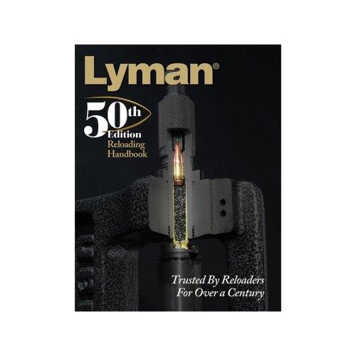Lyman 50th Edition Reloading Handbook PAPERBACK (LY9816051)