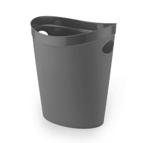 Addis Flexi Waste Paper bin - Charcoal
