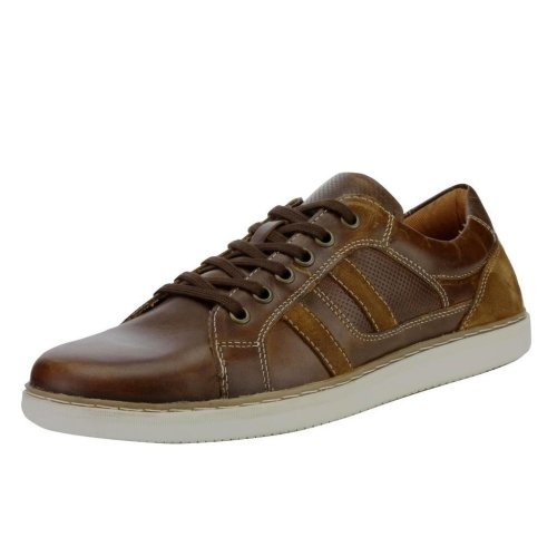 Red Tape Men's Cumber Leather Casual Shoes Tan