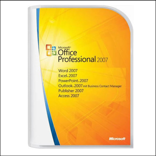 Microsoft Office 2007 Complete Software With Key (S/N)