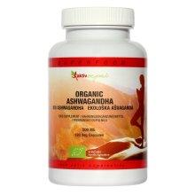 Ashwagandha Capsules 500mg, 120 Vegetarian Capsules, Certified Organic