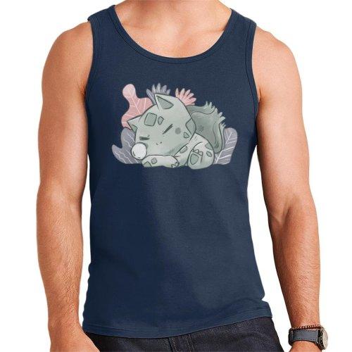 Pokemon Sleeping Bulbasaur Men's Vest