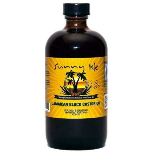 Sunny Isle Jamaican Black Castor Oil Regular 8oz. (236ml)