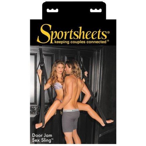 Sportsheets Door Jam Sling For Over The Door Sexual Positioning In Black
