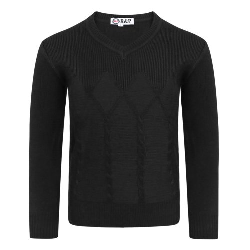 Boys Pullover Cable Knitted 1793 Jumper