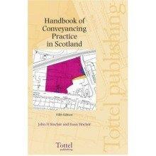 Handbook of Conveyancing Practice