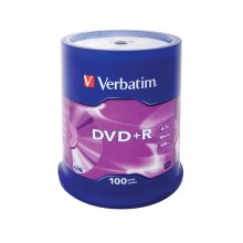 Verbatim DVD+R Matt Silver 4.7GB DVD+R 100pc(s)