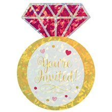 Ring Postcard Invitations - /8