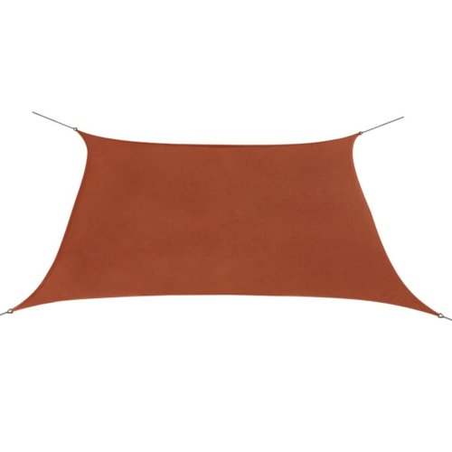 vidaXL Sunshade Sail Oxford Fabric Square 2x2 m Terracotta