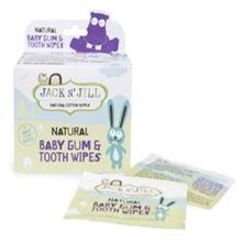 Jack N Jill Natural Baby Gum & Tooth Wipes 25 Sachets