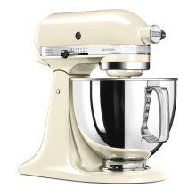 KitchenAid 5KSM125BAC Artisan Stand Mixer 300W 4.8 Litre Tilt Head Almond Cream