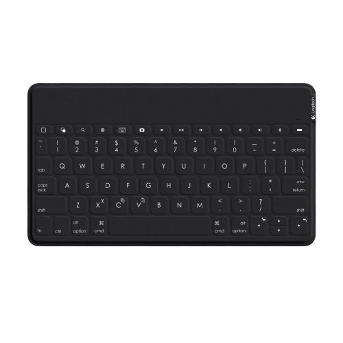 Logitech Keys To Go Ultra Portable Keyboard for iPad iPhone and more - Black