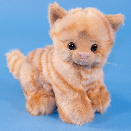 Dowman Sitting Ginger Cat Soft Toy 17cm