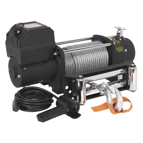 Sealey SRW5450 12V Self Recovery Winch 5450kg Line Pull