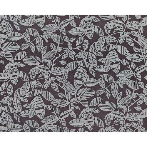 EDEM 923-39 non-woven floral wallpaper flowers grey silver metallic 10.65 sqm