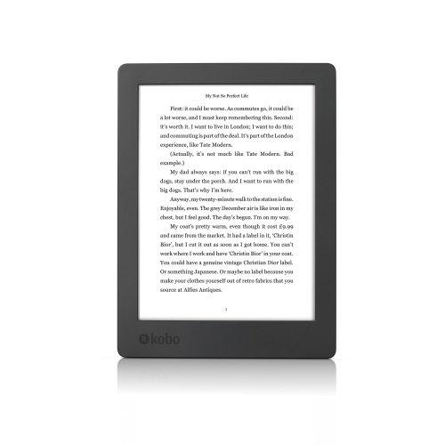 Kobo Aura 17.272 cm H2O 2nd Edition eBook Reader - (Black) (0.512 GB RAM, eMMC)
