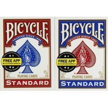 Bicycle Rider Back Playing Cards 2-Pack ( 1 Blue and 1 Red )