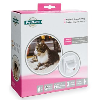 Petsafe Staywell Infra Red 4-Way Locking Deluxe Cat Flap