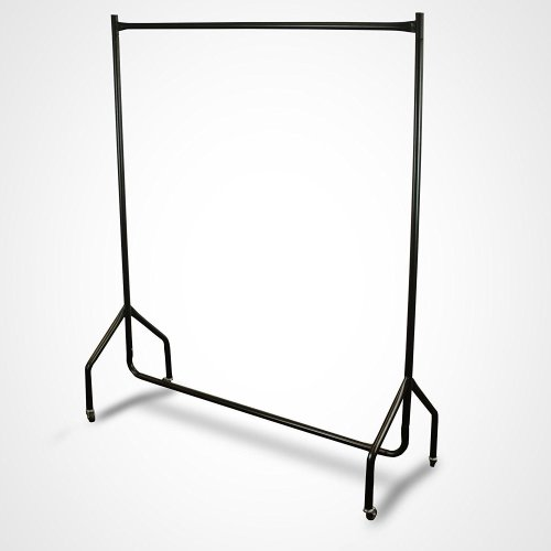 4ft x 5ft Extra Heavy Duty Steel Wheeled Clothes Rail