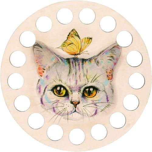 RTO Buratini Thread Organizer 13cm-Kitty