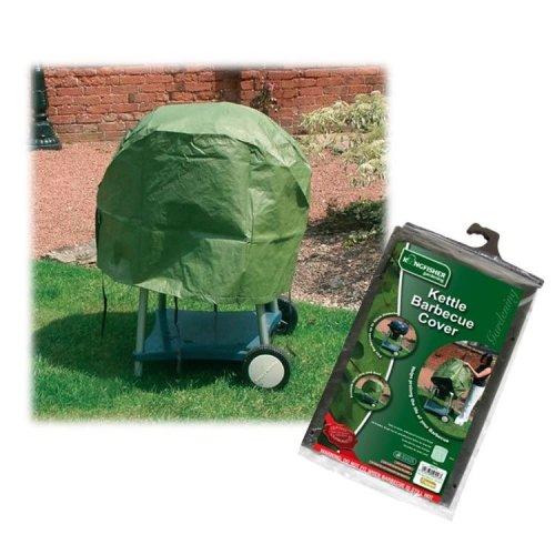 Kettle Barbecue Cover Garden BBQ Rain And Weather Protector - Green