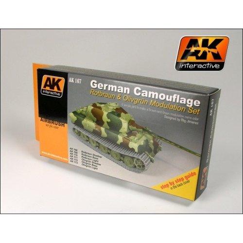 Ak00167 - Ak Interactive Set German Green  Brown Modulation