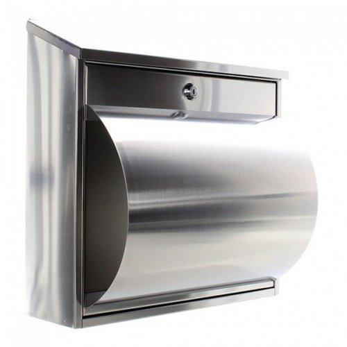 Stainless Steel Lockable Mailbox Letterbox Rottner Wallersee