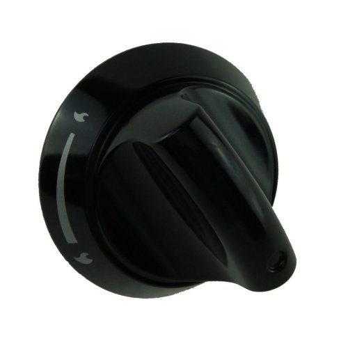 Hotpoint HAG60K Control Knob Hotplates Black
