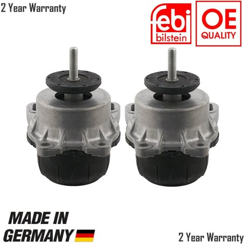BRAND NEW FORD TRANSIT FRONT ENGINE MOUNTING PAIR RWD 2.4 TDCI 06 ON MK7 1735879