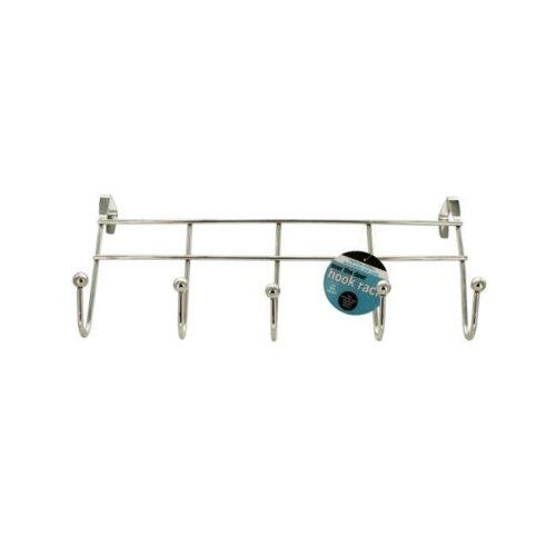 Bulk Buys OD909-16 Over The Door Hook Rack