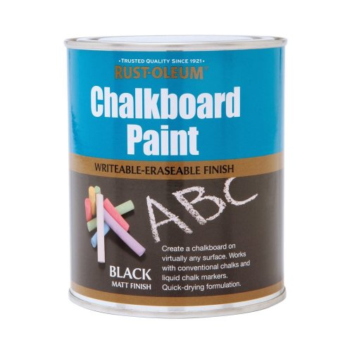 Rust-Oleum 750ml Chalkboard Paint - Black