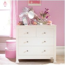 Izziwotnot Tranquility Chest of Drawers - White