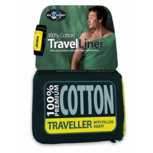 Sea to Summit Traveller Cotton Liner Standard (Navy Blue)
